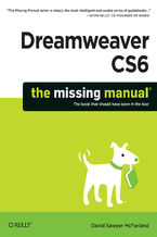 Okładka książki Dreamweaver CS6: The Missing Manual