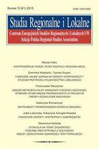 Studia Regionalne i Lokalne nr 3(61)/2015
