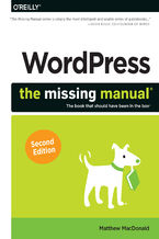 Okładka książki WordPress: The Missing Manual. 2nd Edition