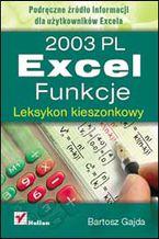 Okładka książki Excel 2003 PL. Funkcje. Leksykon kieszonkowy