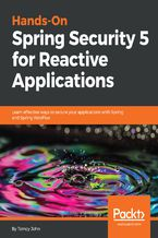 Okładka książki Hands-On Spring Security 5 for Reactive Applications