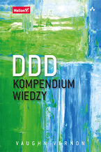 Okładka książki DDD. Kompendium wiedzy