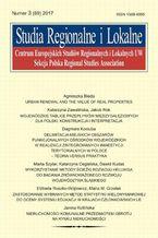 Studia Regionalne i Lokalne nr 3(69)/2017