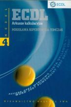 Okładka książki ECDL Arkusze kalkulacyjne Moduł 4