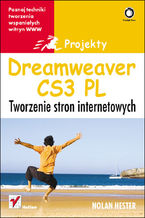 Okładka książki Dreamweaver CS3. Tworzenie stron internetowych. Projekty