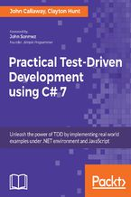 Okładka książki Practical Test-Driven Development using C# 7