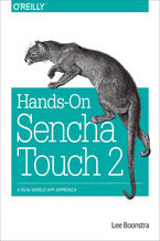 Okładka książki Hands-On Sencha Touch 2. A Real-World App Approach