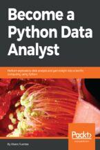 Okładka książki Become a Python Data Analyst