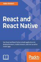 Okładka książki React and React Native