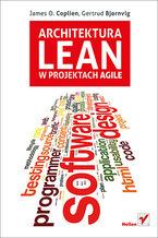 Okładka książki Architektura Lean w projektach Agile