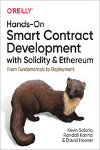 Okładka książki Hands-On Smart Contract Development with Solidity and Ethereum. From Fundamentals to Deployment