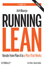 Okładka książki Running Lean. Iterate from Plan A to a Plan That Works. 2nd Edition