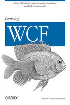Okładka książki Learning WCF. A Hands-on Guide