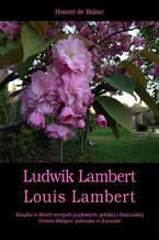 Ludwik Lambert. Louis Lambert
