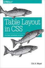 Okładka książki Table Layout in CSS. CSS Table Rendering in Detail