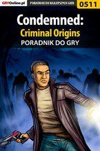 Condemned: Criminal Origins - poradnik do gry