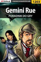 Gemini Rue - poradnik do gry