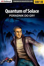 Quantum of Solace - poradnik do gry