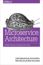 Okładka książki Microservice Architecture. Aligning Principles, Practices, and Culture