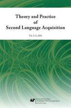 """""""Theory and Practice of Second Language Acquisition"""" 2016. Vol. 2 (1)"""