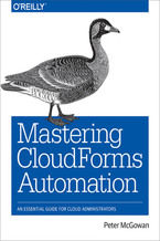 Okładka książki Mastering CloudForms Automation. An Essential Guide for Cloud Administrators