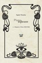 Pisma wybrane Tom 2. Rosjanin w Polsce (1920-1936)