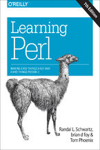 Okładka książki Learning Perl. Making Easy Things Easy and Hard Things Possible. 7th Edition
