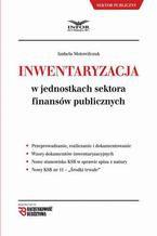 Inwentaryzacja w jednostkach sektora finansów publicznych
