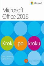 Okładka książki Microssoft Office 2016 Krok po kroku