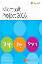 Okładka książki Microsoft Project 2016 Krok po kroku