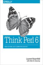 Okładka książki Think Perl 6. How to Think Like a Computer Scientist