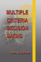 Multiple Criteria Decision Making  vol.9 (2014)