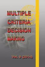 Multiple Criteria Decision Making  vol.9 (2014)