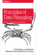 Principles of Data Wrangling. Practical Techniques for Data Preparation
