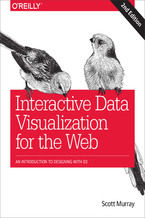 Okładka książki Interactive Data Visualization for the Web. An Introduction to Designing with D3. 2nd Edition