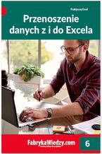 Okładka książki Przenoszenie danych z i do Excela