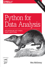Okładka książki Python for Data Analysis. Data Wrangling with Pandas, NumPy, and IPython. 2nd Edition