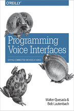 Okładka książki Programming Voice Interfaces