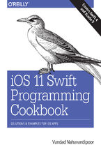 Okładka książki iOS 11 Swift Programming Cookbook. Solutions and Examples for iOS Apps
