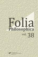 Folia Philosophica. Vol. 38