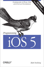 Okładka książki Programming iOS 5. Fundamentals of iPhone, iPad, and iPod touch Development. 2nd Edition