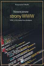Okładka książki Nowoczesne strony WWW. HTML5, CSS3, Adobe Muse, Wordpress