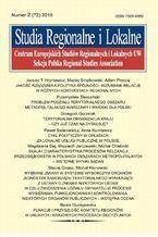 Studia Regionalne i Lokalne nr 2(72)/2018
