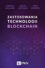 Okładka książki Zastosowania technologii Blockchain