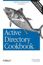 Okładka książki Active Directory Cookbook. 3rd Edition