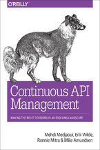 Okładka książki Continuous API Management. Making the Right Decisions in an Evolving Landscape