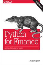 Okładka książki Python for Finance. Mastering Data-Driven Finance. 2nd Edition