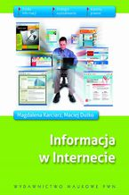 Okładka książki Informacja w internecie