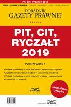 PIT CIT Ryczałt 2019