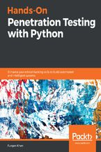 Okładka książki Hands-On Penetration Testing with Python